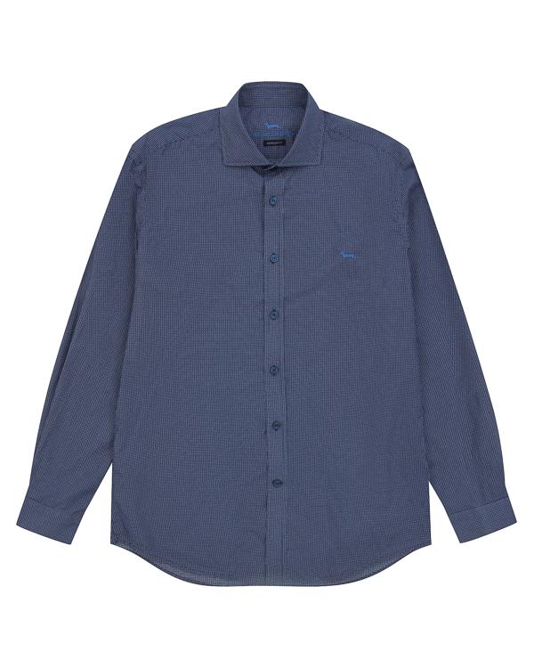 рубашка классического кроя из хлопка артикул HBCX20A марки Harmont & Blaine купить за 10500 руб.