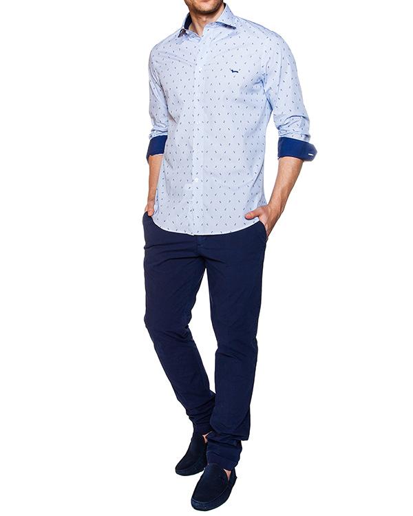 мужская рубашка Harmont & Blaine, сезон: лето 2016. Купить за 9700 руб. | Фото 3