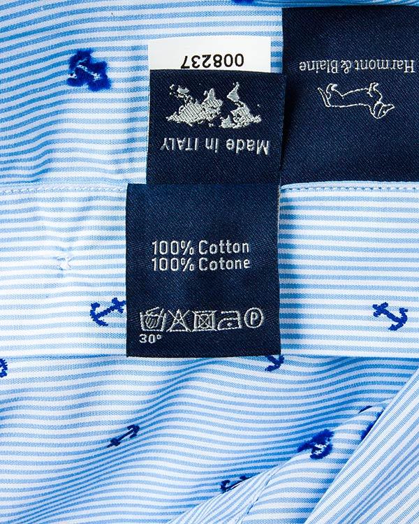 мужская рубашка Harmont & Blaine, сезон: лето 2016. Купить за 9700 руб. | Фото 5
