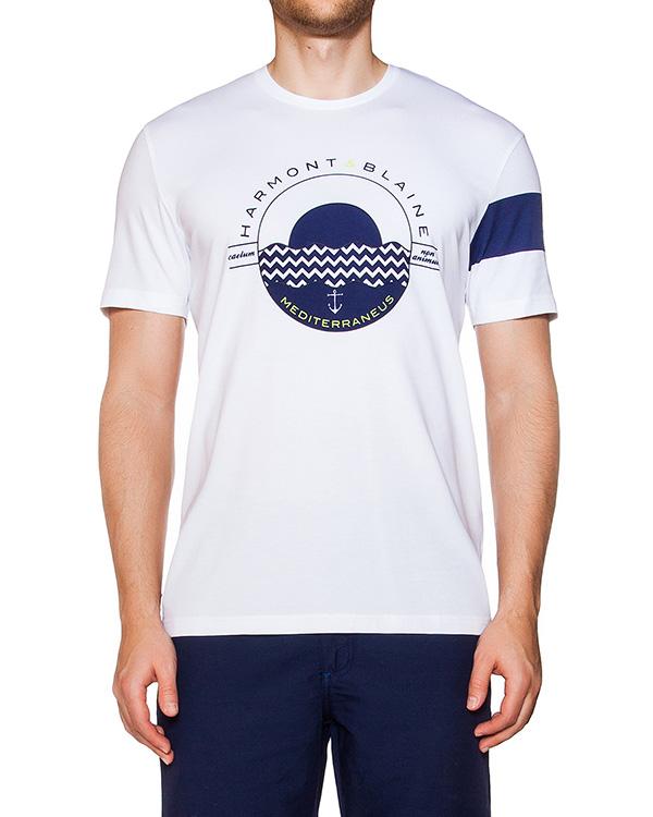 мужская футболка Harmont & Blaine, сезон: лето 2016. Купить за 4200 руб. | Фото 1