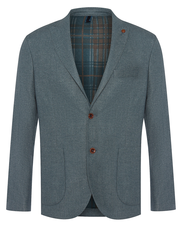 пиджак из полушерстяного материала в стиле casual артикул HBV0250 марки Harmont & Blaine купить за 31700 руб.