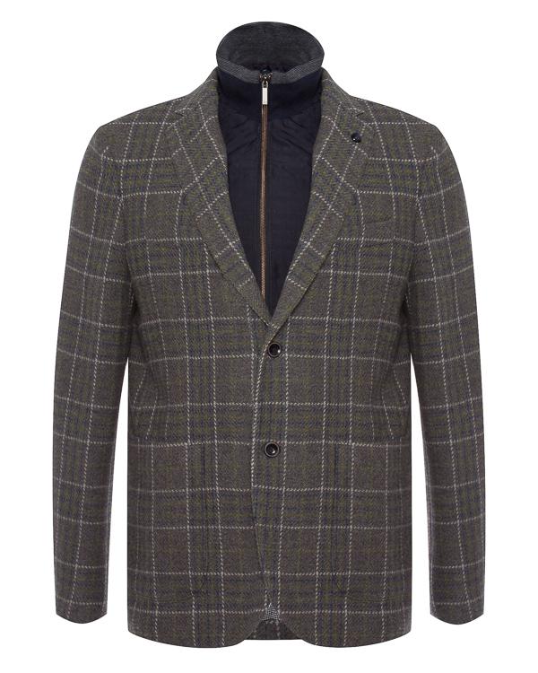 пиджак из шерсти со спортивной отделкой артикул HBV0252 марки Harmont & Blaine купить за 43700 руб.