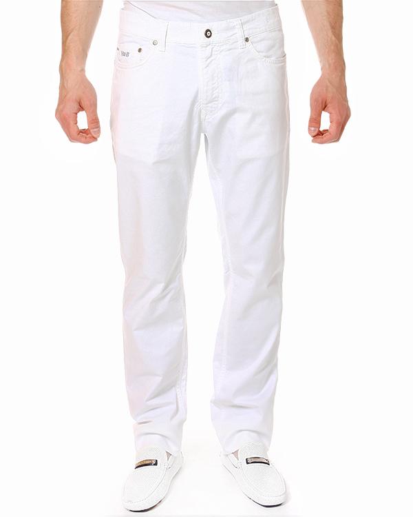 джинсы прямого силуэта и лого бренда на переднем кармане артикул HBW1178 марки Harmont & Blaine купить за 6500 руб.