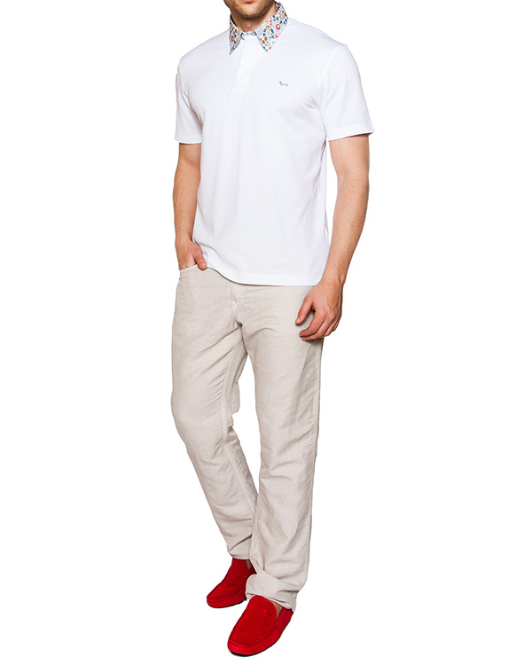 мужская брюки Harmont & Blaine, сезон: лето 2016. Купить за 7100 руб. | Фото 3