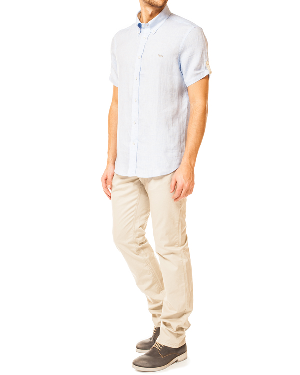 мужская брюки Harmont & Blaine, сезон: лето 2014. Купить за 5600 руб. | Фото 3