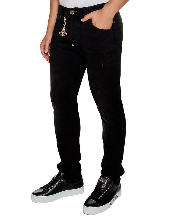 мужская джинсы PHILIPP PLEIN, сезон: зима 2016/17. Купить за 17500 руб. | Фото 1