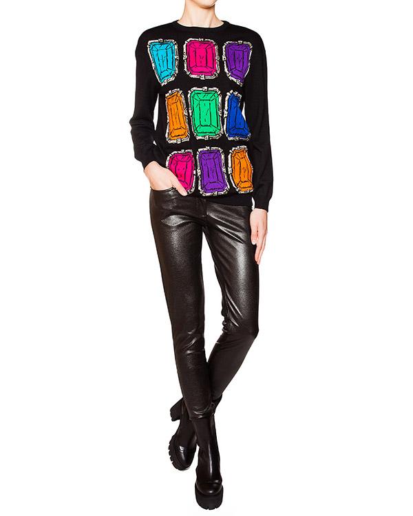 женская брюки Moschino Boutique, сезон: зима 2015/16. Купить за 18800 руб. | Фото 3