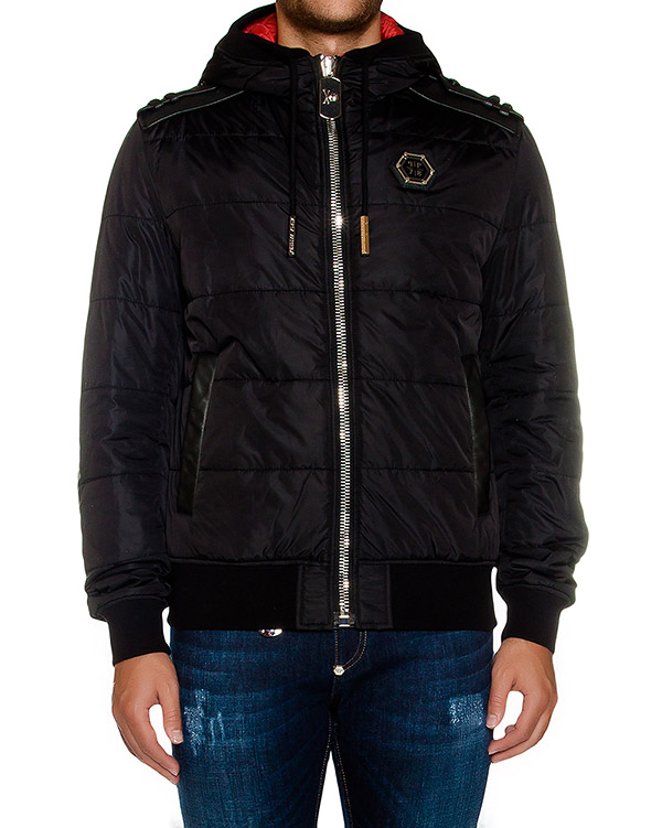 мужская куртка PHILIPP PLEIN, сезон: зима 2016/17. Купить за 97200 руб. | Фото 1