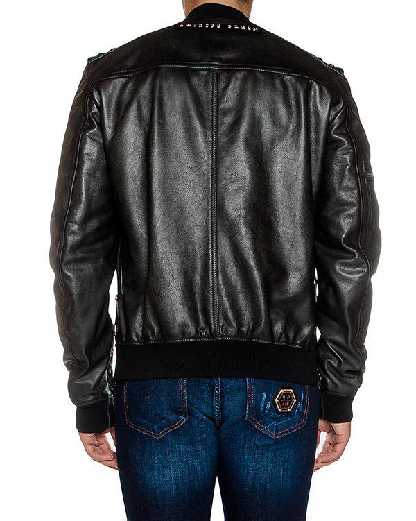 мужская куртка PHILIPP PLEIN, сезон: зима 2016/17. Купить за 167500 руб. | Фото 2