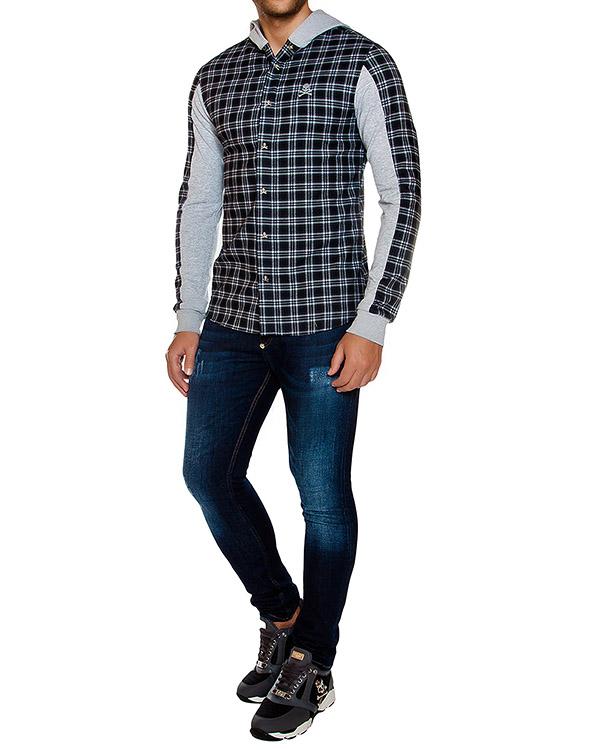 мужская рубашка PHILIPP PLEIN, сезон: зима 2016/17. Купить за 41200 руб. | Фото 3