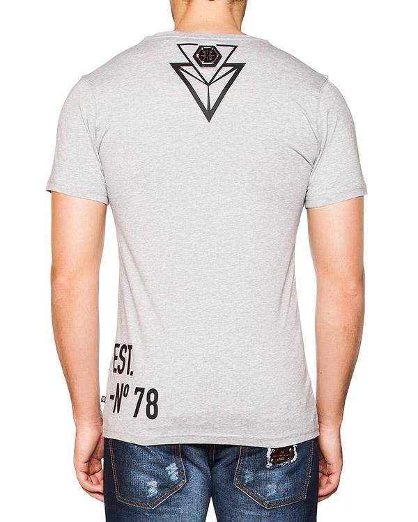 мужская футболка PHILIPP PLEIN, сезон: лето 2016. Купить за 14000 руб. | Фото 2