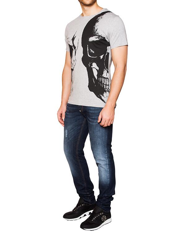 мужская футболка PHILIPP PLEIN, сезон: лето 2016. Купить за 14000 руб. | Фото 3