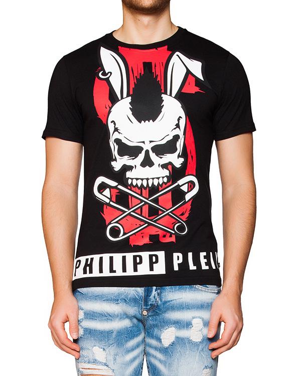 мужская футболка PHILIPP PLEIN, сезон: лето 2016. Купить за 12800 руб. | Фото 1