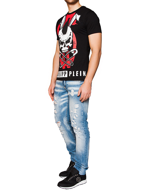 мужская футболка PHILIPP PLEIN, сезон: лето 2016. Купить за 12800 руб. | Фото 3