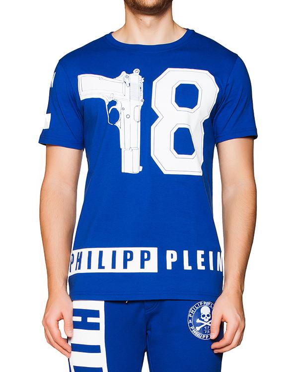 мужская футболка PHILIPP PLEIN, сезон: лето 2016. Купить за 17900 руб. | Фото 1