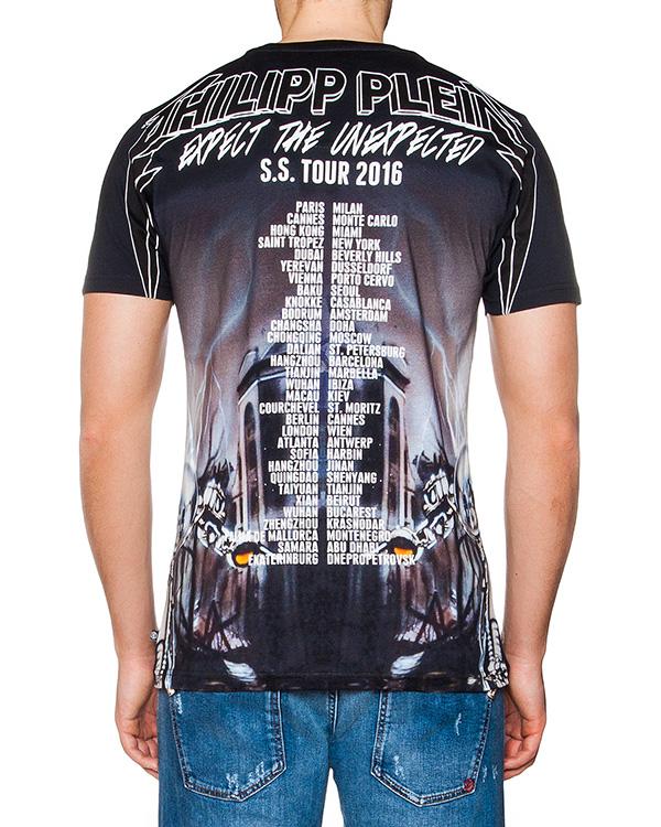 мужская футболка PHILIPP PLEIN, сезон: лето 2016. Купить за 14700 руб. | Фото 2