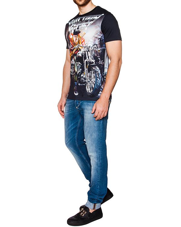 мужская футболка PHILIPP PLEIN, сезон: лето 2016. Купить за 14700 руб. | Фото 3