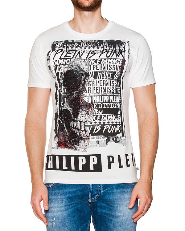 мужская футболка PHILIPP PLEIN, сезон: лето 2016. Купить за 14700 руб. | Фото 1