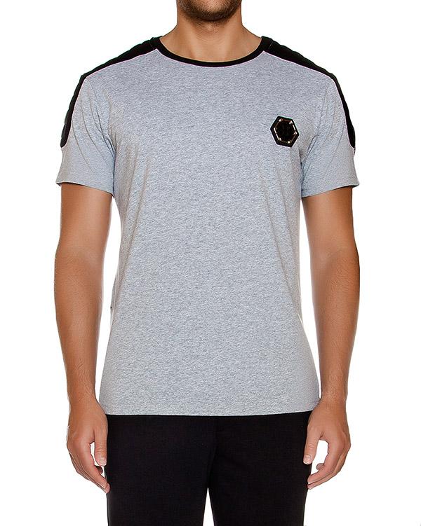 мужская футболка PHILIPP PLEIN, сезон: зима 2016/17. Купить за 12300 руб. | Фото 1