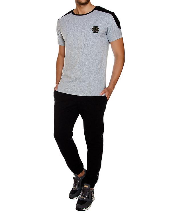 мужская футболка PHILIPP PLEIN, сезон: зима 2016/17. Купить за 12300 руб. | Фото 3