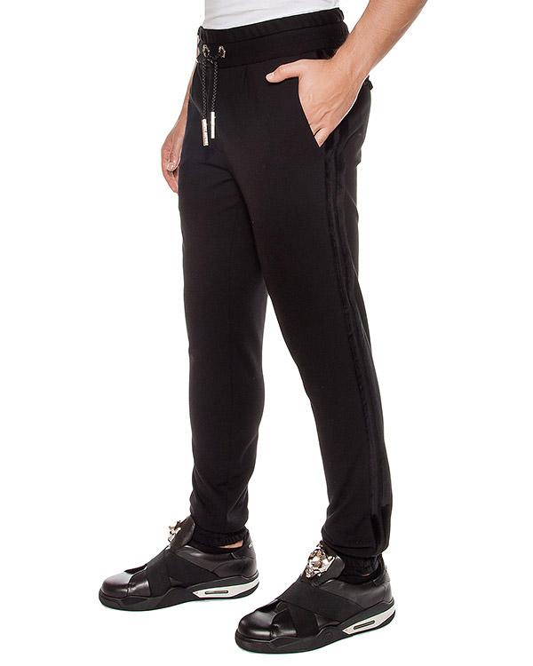 брюки из мягкого трикотажа артикул HM513093 марки PHILIPP PLEIN купить за 30300 руб.