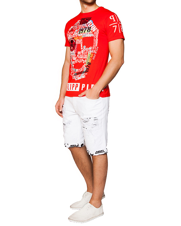 мужская бермуды PHILIPP PLEIN, сезон: лето 2016. Купить за 20400 руб. | Фото 3