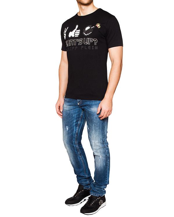 мужская джинсы PHILIPP PLEIN, сезон: лето 2016. Купить за 47500 руб. | Фото $i