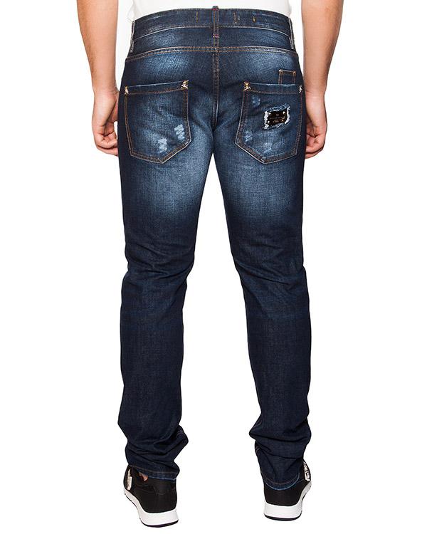 мужская джинсы PHILIPP PLEIN, сезон: лето 2016. Купить за 23800 руб. | Фото 2