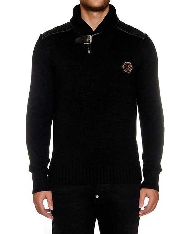 мужская пуловер PHILIPP PLEIN, сезон: зима 2016/17. Купить за 68800 руб. | Фото 1