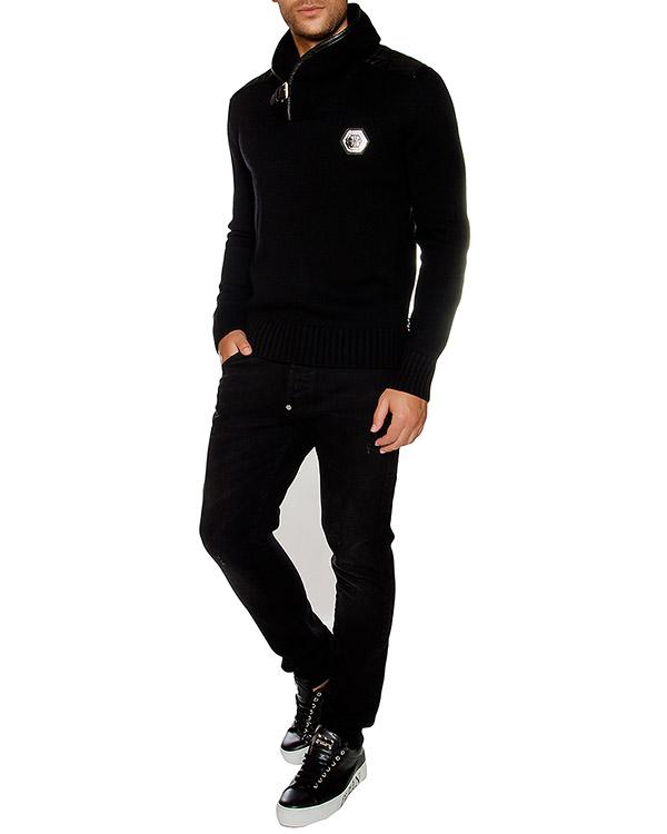 мужская пуловер PHILIPP PLEIN, сезон: зима 2016/17. Купить за 68800 руб. | Фото 3