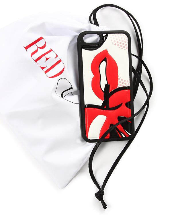 аксессуары чехол для iPhone Valentino Red, сезон: зима 2014/15. Купить за 2000 руб. | Фото 4