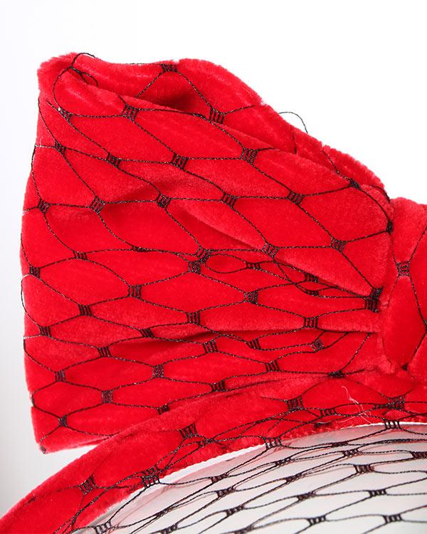 аксессуары ободок Valentino Red, сезон: зима 2014/15. Купить за 3900 руб.   Фото 3