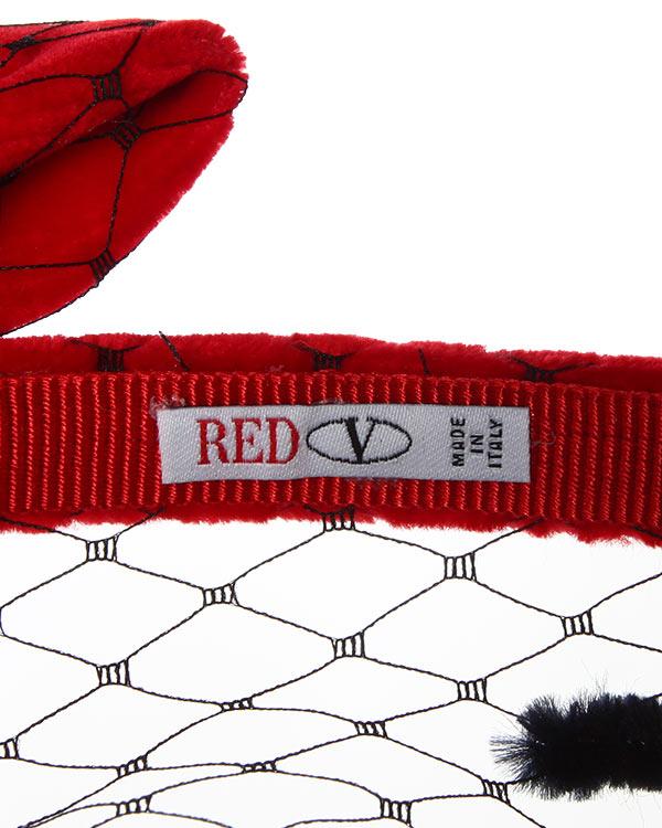 аксессуары ободок Valentino Red, сезон: зима 2014/15. Купить за 3900 руб.   Фото 4