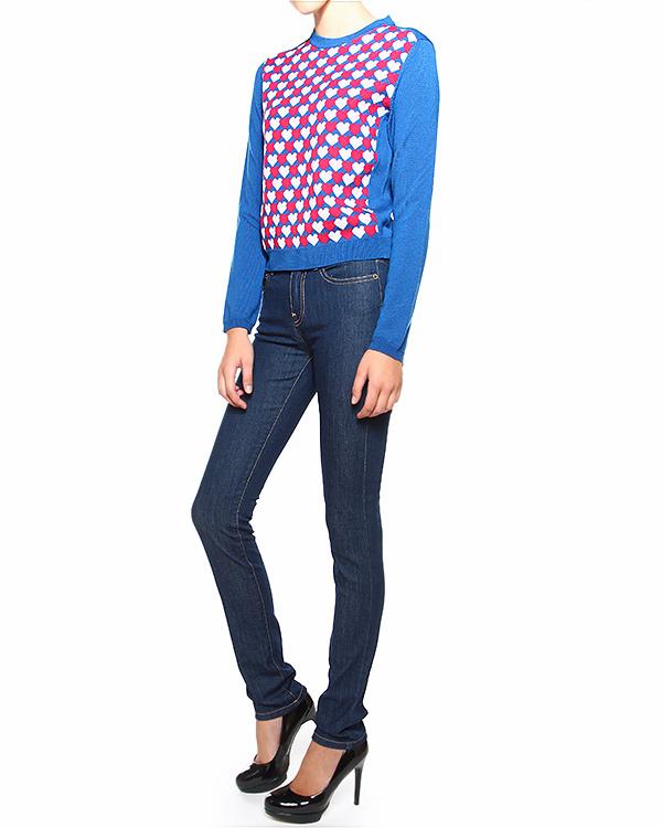 женская джинсы Valentino Red, сезон: зима 2014/15. Купить за 7800 руб. | Фото 3