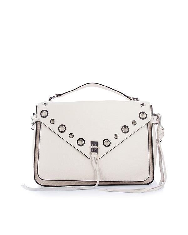 сумка Darren Messenger среднего размера артикул HU17EDGM13 марки Rebecca Minkoff купить за 38400 руб.