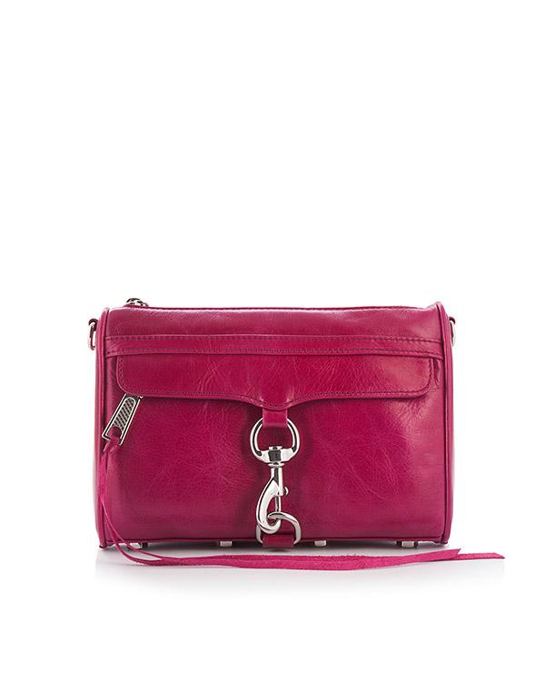 сумка Mini M.A.C. Crossbody с металлической фурнитурой артикул HU17EDSX01 марки Rebecca Minkoff купить за 18000 руб.