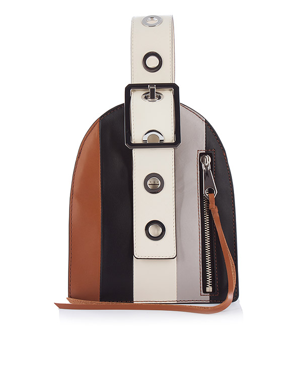 сумка Hook Up Museum Wristlet из кожи артикул HU17EHSD09 марки Rebecca Minkoff купить за 19000 руб.