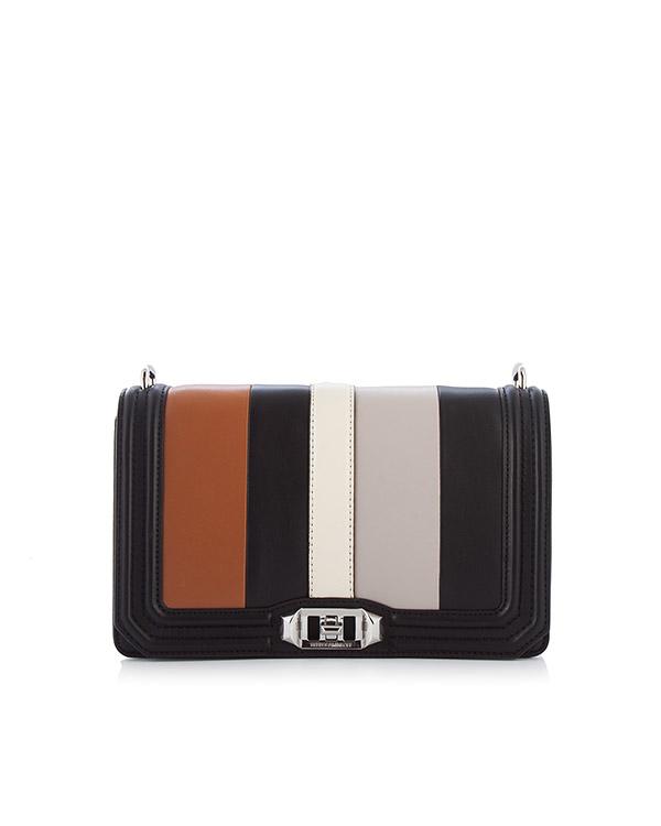 сумка Love Crossbody со съемной цепочкой артикул HU17ESGX08 марки Rebecca Minkoff купить за 33400 руб.