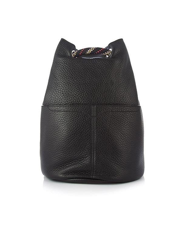 рюкзак Climbing Rope Backpack из шагреневой кожи артикул HU17EUPB97 марки Rebecca Minkoff купить за 33400 руб.