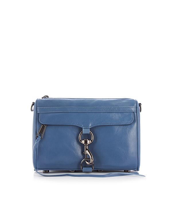 сумка Mini M.A.C. Crossbody с металлической фурнитурой артикул HU17GDSX01 марки Rebecca Minkoff купить за 18000 руб.