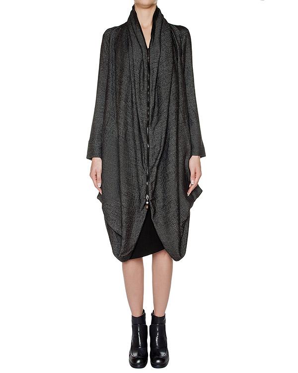 пальто свободного, асимметричного кроя из плотной ткани артикул I16I10139 марки MALLONI купить за 24100 руб.