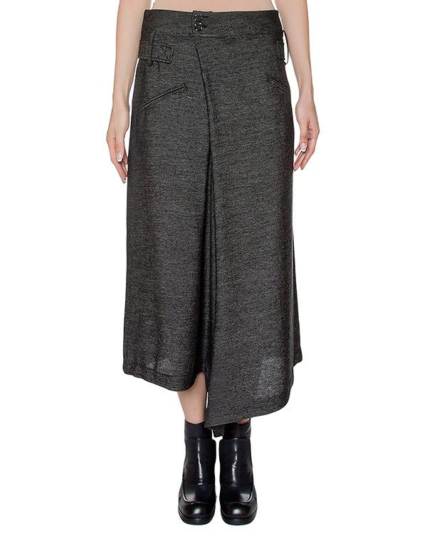брюки асимметричного кроя из тонкой полушерстяной ткани артикул I16I70332 марки MALLONI купить за 13300 руб.