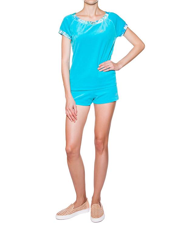 женская футболка BLUMARINE, сезон: лето 2015. Купить за 5400 руб. | Фото 3