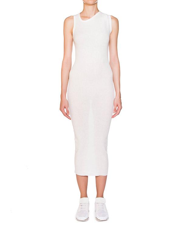 платье из эластичного тонкого хлопка в рубчик артикул IB2617 марки Isabel Benenato купить за 10600 руб.