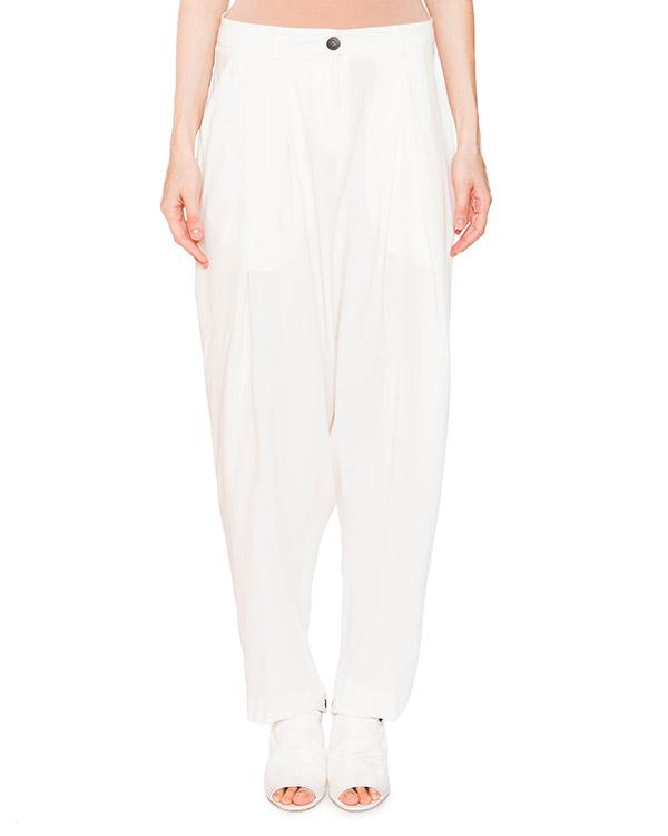 брюки свободного кроя из трикотажа артикул IB2633 марки Isabel Benenato купить за 23200 руб.