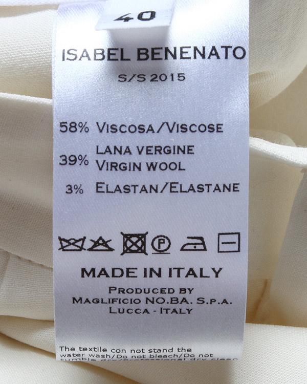 женская брюки Isabel Benenato, сезон: лето 2015. Купить за 33100 руб. | Фото 5