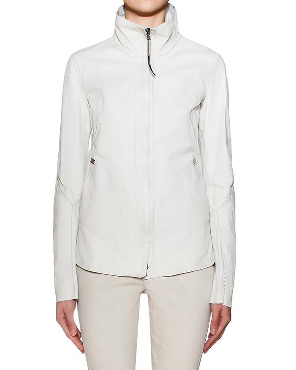 куртка из натурально кожи с металлической фурнитурой артикул IMPASSIBLE марки Isaac Sellam купить за 94200 руб.