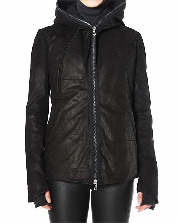 куртка с объемным капюшоном и имитацией перчаток артикул INCONSCIENTE марки Isaac Sellam купить за 122900 руб.
