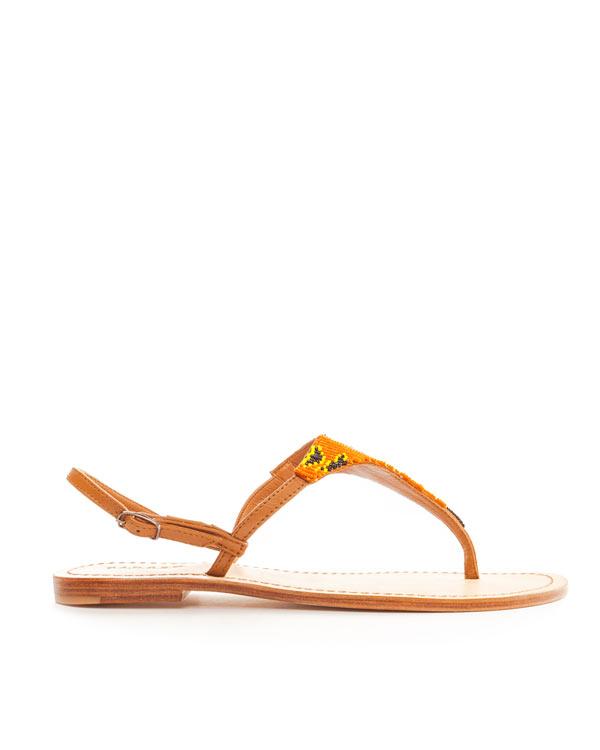 женская сандалии P.A.R.O.S.H., сезон: лето 2014. Купить за 5000 руб. | Фото 1