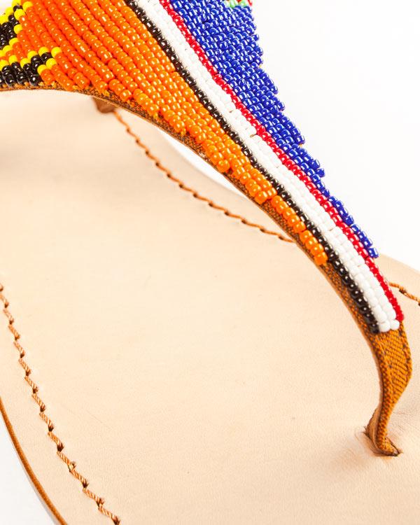 женская сандалии P.A.R.O.S.H., сезон: лето 2014. Купить за 5000 руб. | Фото 4